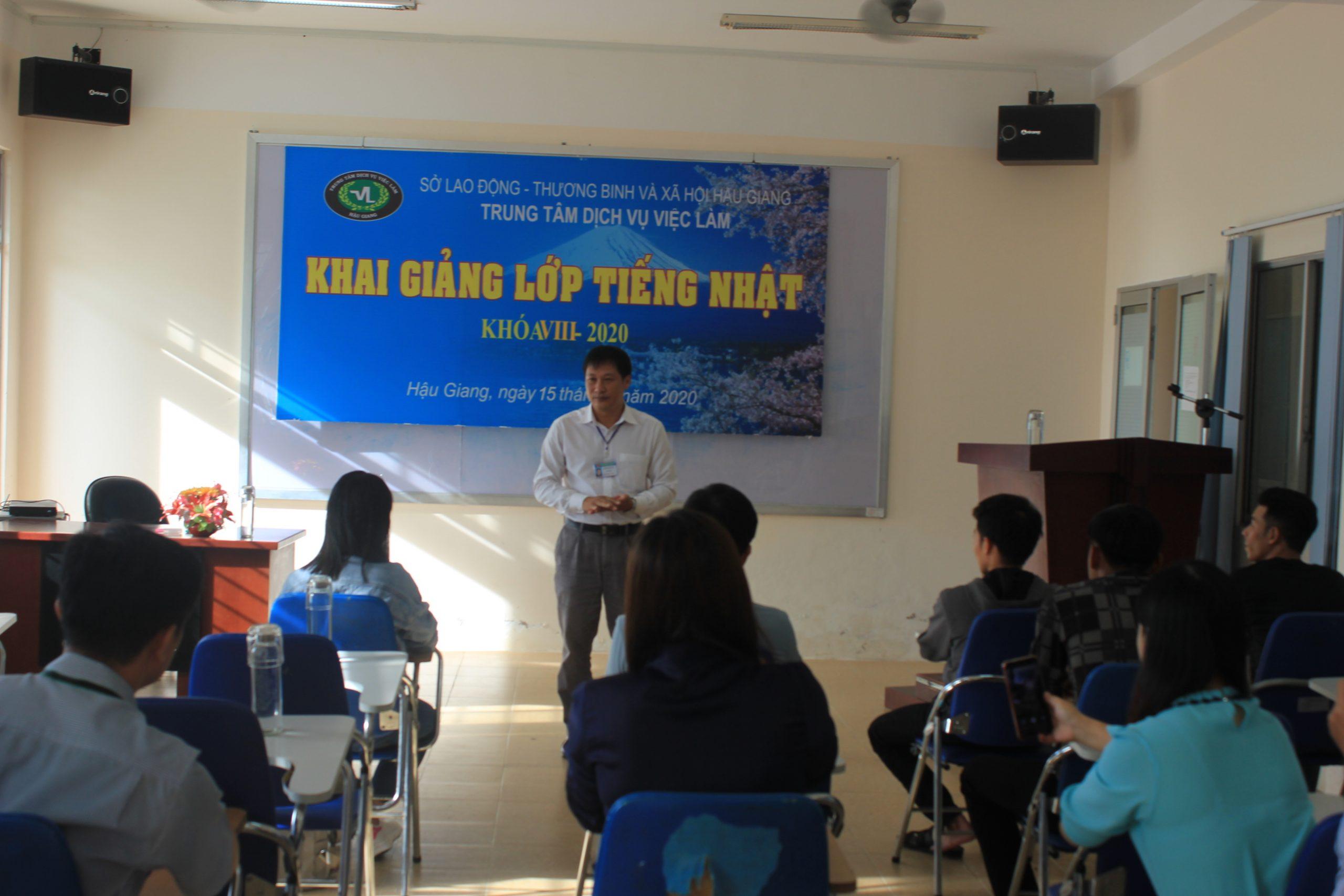 Trung tâm Dịch vụ việc làm khai giảng lớp tiếng Nhật khóa VIII